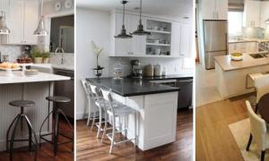 Угловые кухни с барной стойкой — удобное и рациональное использование пространства