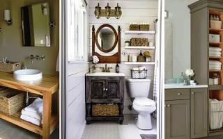 Индивидуальная мебель для ванной своими руками