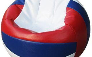 Кресло-мяч своими руками: выкройка и инструкция