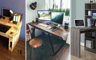 Компьютерный стол своими руками — сделай себе рабочее место