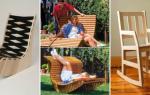 Кресло-качалка из фанеры: простой вариант изготовления