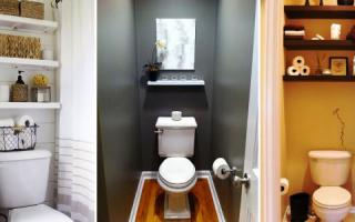 Как сделать полки в туалете и в ванной своими руками с минимальными затратами