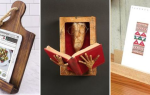 Удобные варианты подставки для книг, изготовленные своими руками