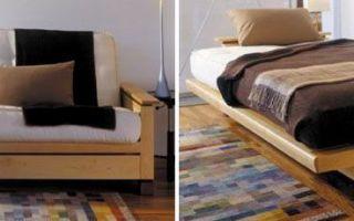Диван-кровать своими руками из дерева в домашних условиях