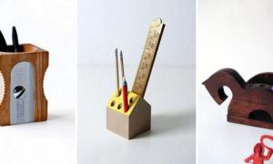 Подставка для карандашей своими руками из подручных материалов