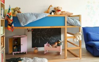 Детская кровать своими руками или как создать уют в детской
