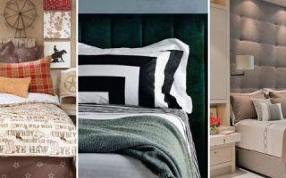 Мягкое изголовье кровати своими руками: украсьте свою спальню