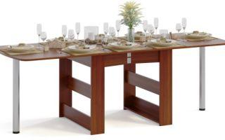 Обеденный раскладной стол своими руками — только для большой семьи