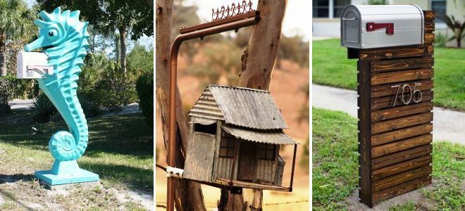 Почтовый ящик своими руками — произведение искусства для дома
