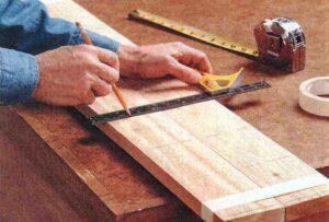 Изготовление ножек ширмы