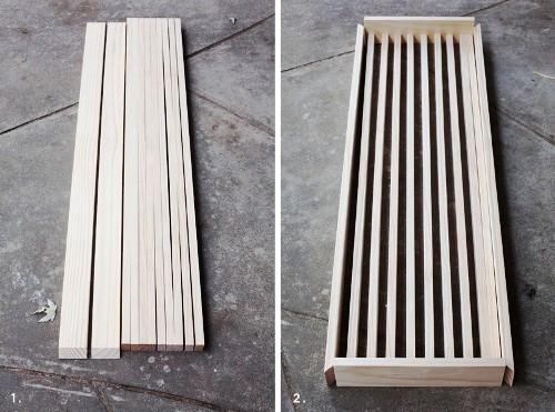 изготовление досок для каркаси столика