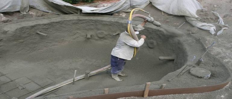 строительство прудика
