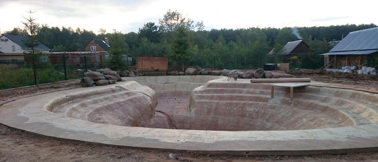 Основа - бетон