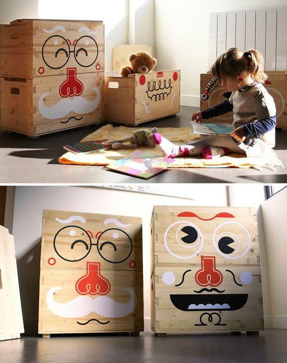 ящик для игрушек своими руками из дерева