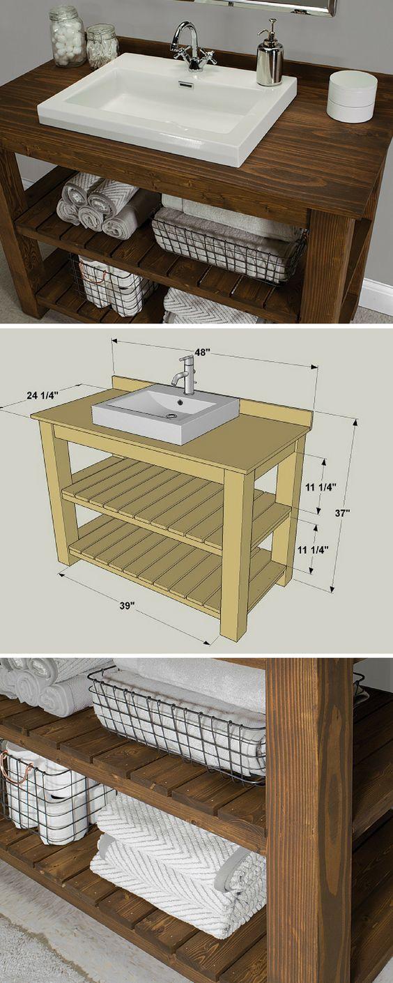 мебель для ванной своими руками в домашних условиях