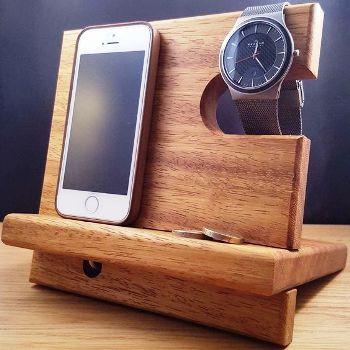 подставка для телефона своими руками из дерева