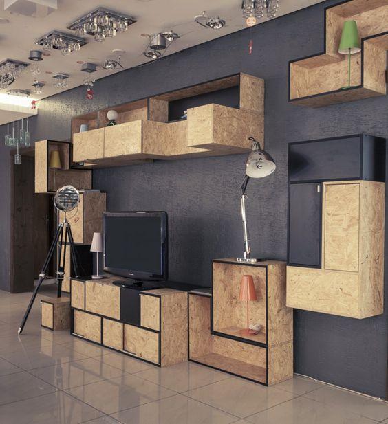 Мебель из ОСБ