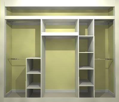 Шкаф в нише