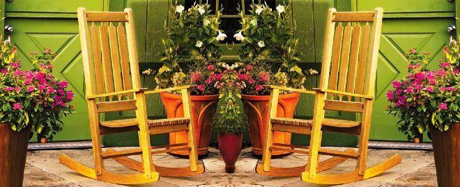 Общий вид кресла-качалки