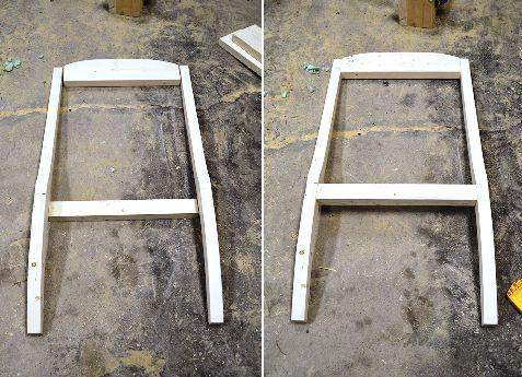 Детали спинки кресла