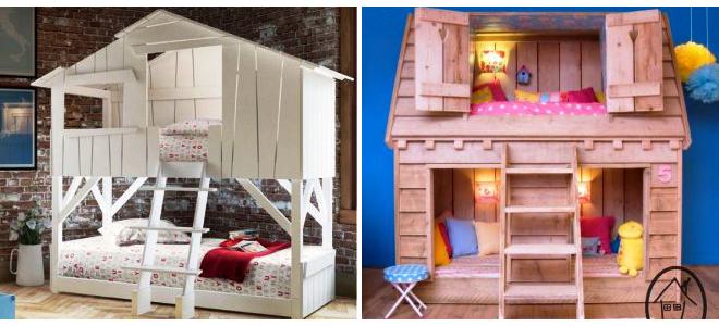 Двухярусная кровать для детей и подростков