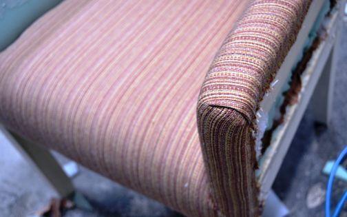 Обшивка тканью