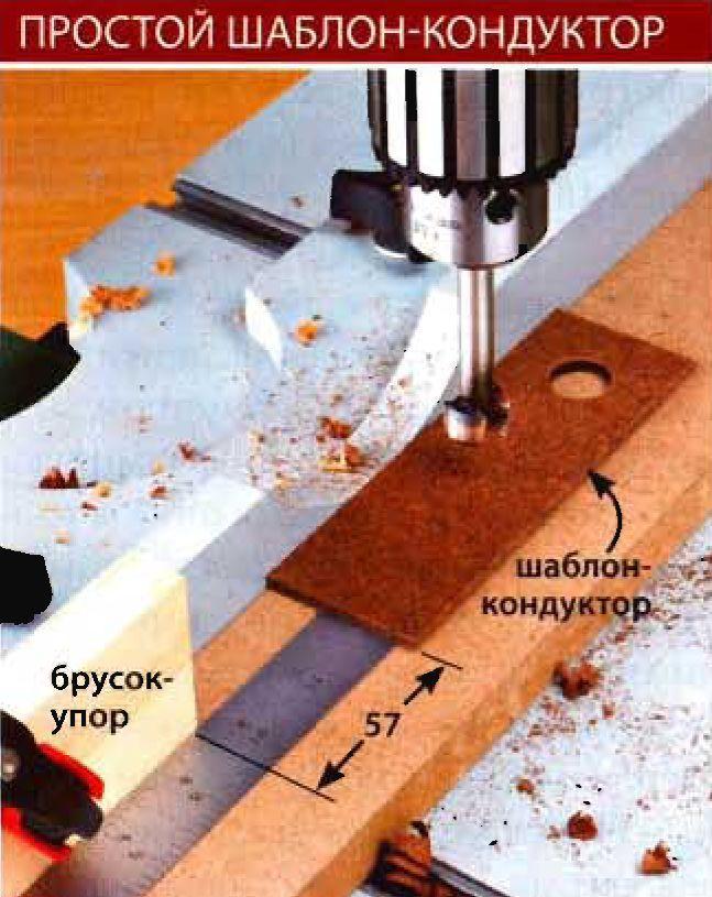Простой шаблон кондуктор