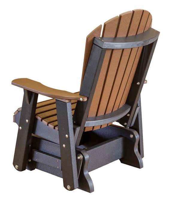 Кресло-качалка маятниковое коричневое