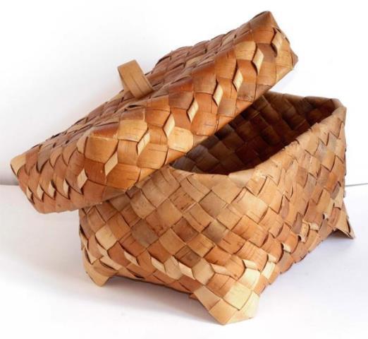 хлебница из бересты своими руками