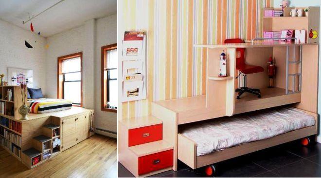 кровать подиум своими руками дома