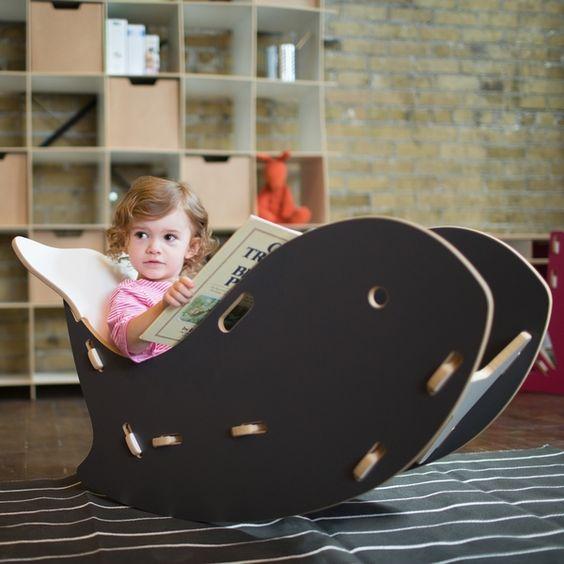 Детское кресло-качалка из фанеры