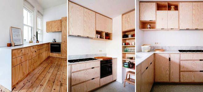 Гарнитур кухонный из фанеры