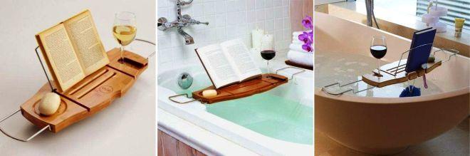 Подставка для книги для ванной