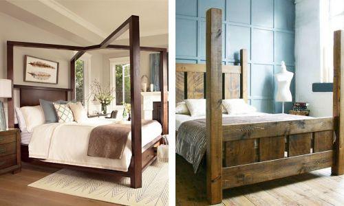 Примеры изготовления кроватей самостоятельно