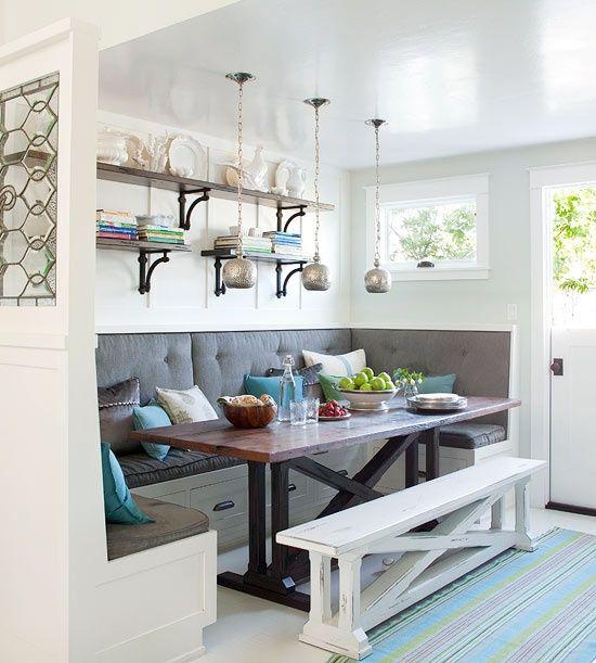 Кухонный диван с лавкой