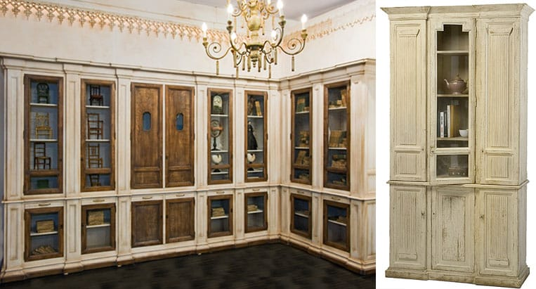 шкаф в стиле прованс