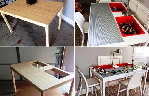 стол для лего своими руками